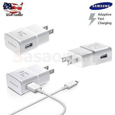 New OEM Samsung Galaxy Note 4 5 S6 Edge Adaptive Fast Rapid Charger EP-TA20JWE