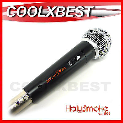 New Dynamic Cardioid Performance Alloy Mic Microphone + Cable Karaoke Dj Vocal