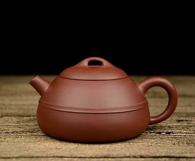 """Highly Commended"" Chinese Yixing Zisha Clay Handmade Xianbian Teapot 180cc"