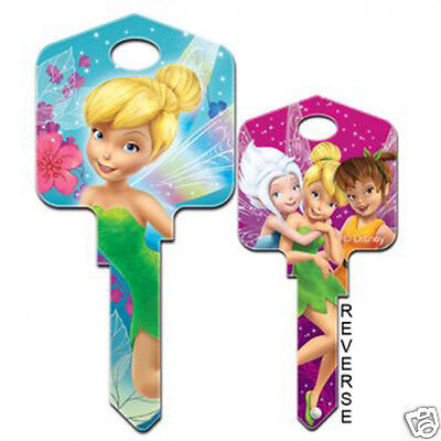 Disney Tinkerbell 'Fairies' COLLECTABLE UNCUT HOUSE KEY BLANK