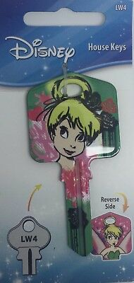 Tinkerbell Wings  Disney Collectable Uncut House Key Blank