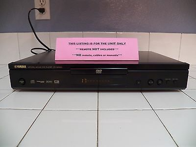 Yamaha Dv S5550 Natural Sound Dvd Player W Outputs Dolby Digital