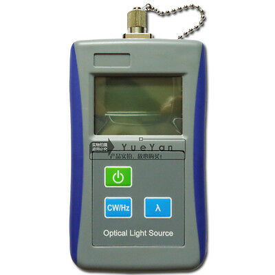 Fiber Optic Test Tool Handheld Optical Light Source 850/1300nm wavelength multi