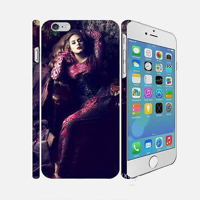 12 Adele Laurie Blue Adkins - Apple iPhone 4 5 6 Hardshell Back Cover Case