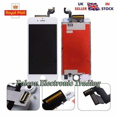 "For 4.7""iPhone 6S LCD Screen Replacement Digitizer Touch Assembly Display White"