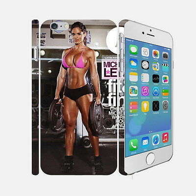 006 Michelle Lewin - Apple iPhone 4 5 6 Hardshell Back Cover Case