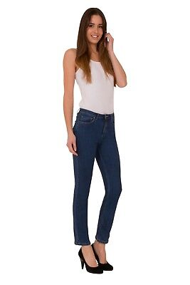 Ex M&S Ladies PerUna Sculpt & Lift Slim Stretch Jeans Pants 6-24 Marks & Spencer