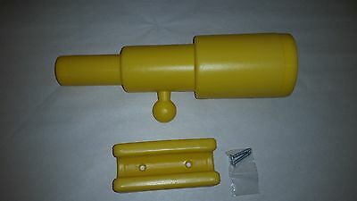 Swing Set TELESCOPE YELLOW Playground Playset Free Ship Out door play playhouse