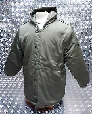 IDF Military Type Dubon Quilted Hooded Winter Army Green Parka  - BRAND NEW