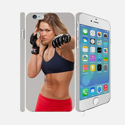 014 Ronda Rousey - Apple iPhone 4 5 6 Hardshell Back Cover Case