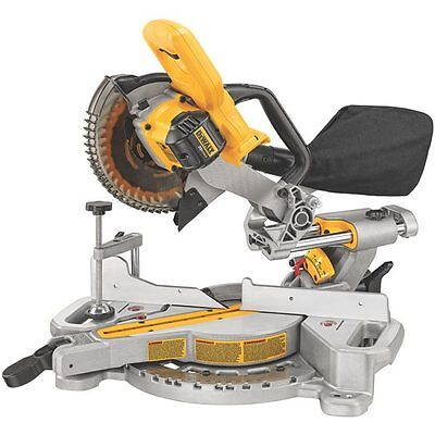 DEWALT DCS361B 7-1/4-in 20-Amp Cordless Sliding Compound Miter Saw (Tool Only)