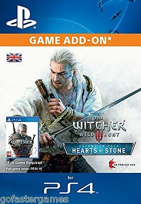 The Witcher 3 Hearts Of Stone Ps4 Expansion Dlc Code