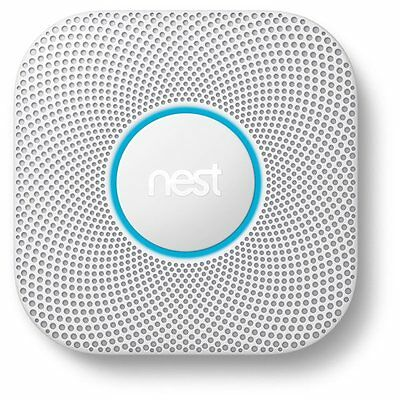 Nest S3000BWEF Protect 2nd Gen Smoke + Carbon Monoxide Alarm, Battery