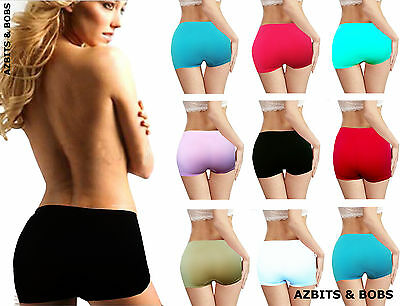 New Women Boxer Shorts Ladies Knickers, Stretchy Underwear Comfy Boyshorts
