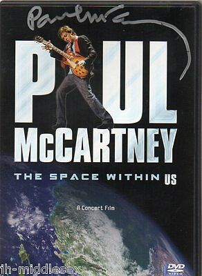 Paul McCartney Autograph - The Beatles - Signed The Space Within US DVD - AFTAL