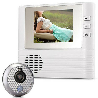 "Digital Viewfinder Judas 2.8"" LCD 3x Zoom door bell for safety_x000D_ ED"