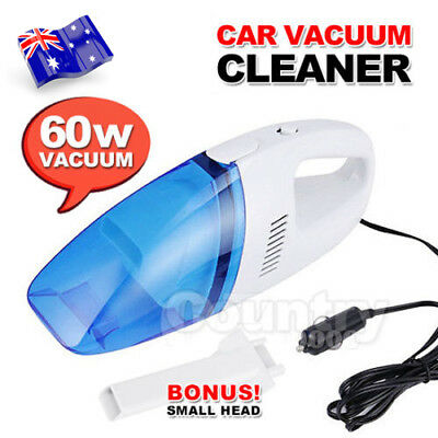 Mini Handheld Portable 12V Dust Car Vacuum Cleaner Wet & Dry Auto Vehicle