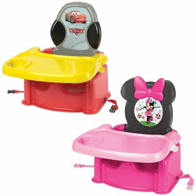 Disney Booster Feeding High Chair Harness Seat Dishwasher Safe for Baby/Toddler