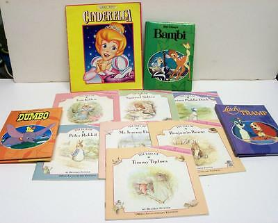 Kids Books In English Cinderella Lady& The Tramp Bambi7 Books By Beatrix Potter
