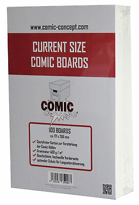COMIC CONCEPT Current Size Backer Boards (100 Stück)