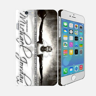 10 Michael Jordan - Apple iPhone 4 5 6 Hardshell Back Cover Case