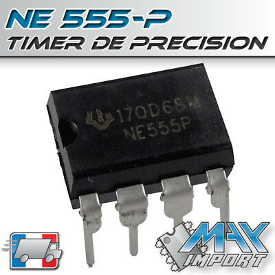 NE555 Precision Timer - Texas Instrument - Lots multiples, prix dégressif