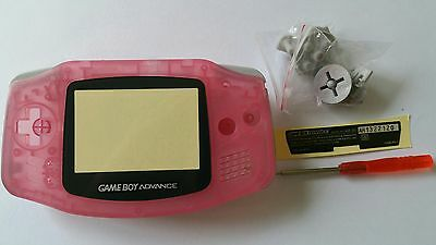Es- Phonecaseonline Carcasa Gameboy Advance Rosa Transparente Nueva
