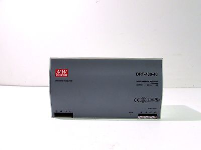 Mean Well Drt-480-48 3 Phase Power Supply 400-500Vac 1.7A 50/60Hz **xlnt**