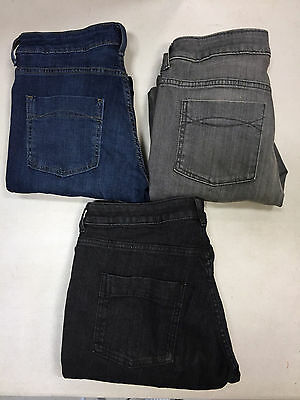 Ex M&S Mid Rise Ladies Womens Indigo Collection Skinny Stretchy Jeans Pants 6 22