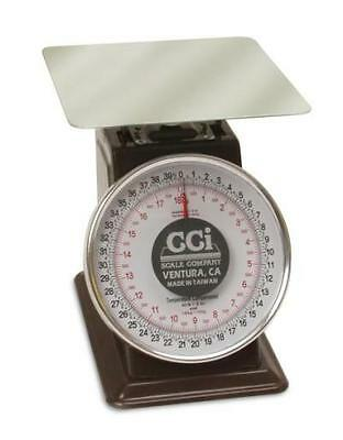 70 LB x 4 OZ CCI LCD7004-DR Mechanical Restaurant Food Portion Dough Dial Scale