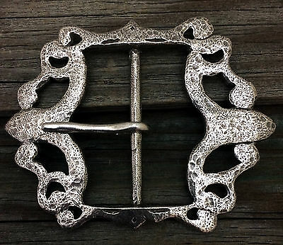 Pirate / Baldric Pewter Belt Buckle