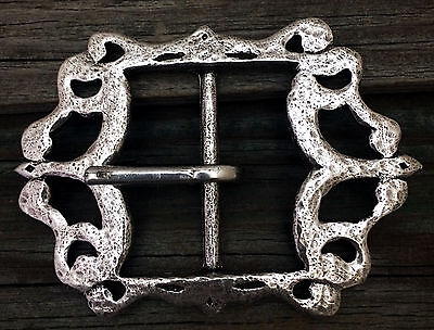 Small Pirate / Baldric Pewter Belt Buckle