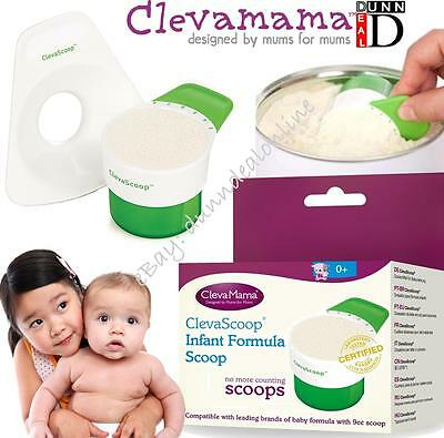Clevamama Clevascoop Infant Formula Scoop Baby Milk Powder Dispenser Measure
