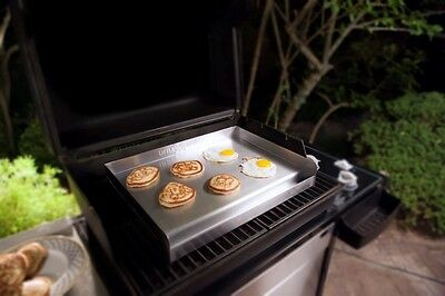 Flat Top Griddle Stainless Steel Gas Grill Heavy Duty Thermal Control Commercial