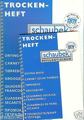 """Schaubek Large Stamp Drying Book"" - Made in Germany $10.99"