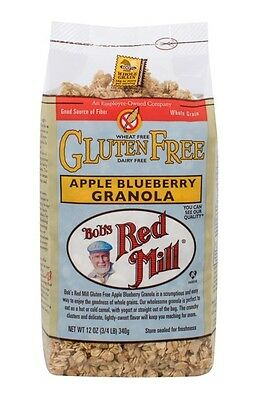 Bob's Red Mill Pure Oats Wheat Free Granola with Apple 340g