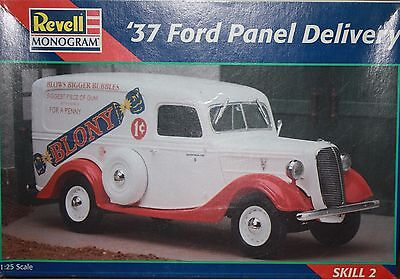 Revell '37 Ford Panel Delivery 1:25 Model Kit