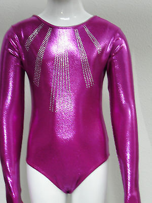 Long Sleeve Gymnastics Leotards for girls