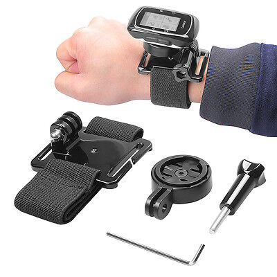 Wristband Wrist Belt Strap Mount For Garmin Edge GPS 25 500 510 520 800 810 1000