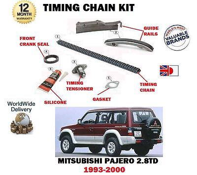 For Mitsubishi Pajero 2.8Td V26 V46 4M40 Engine 1993-2000 New Timing Chain Kit