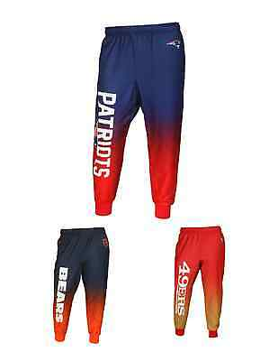 NFL Football Team Logo Polyester Gradient Jogger Pants - Pick Your Team!