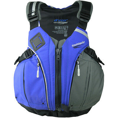 Stohlquist Drifter Kayak PFD (Life jacket) Royal Blue, Small/Medium or XX-Large