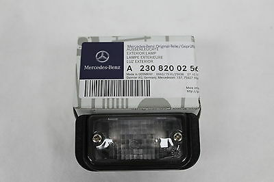 Genuine Mercedes-Benz C209 CLK Rear Number Plate Bulb Holder A2308200256