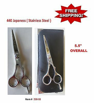 "5.5""  Barber Hair Cutting Scissors Shears ( Japan Stainless Steel )"