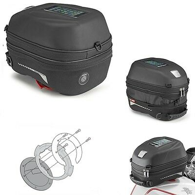 TANK BAG GIVI TANKLOCK ST603 + FLANGE BF 13 BMW R1200 GS Adventure 2012
