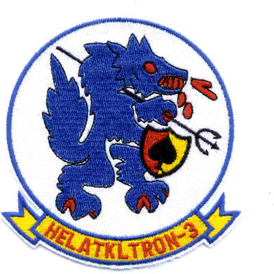 HAL 3 Helicopter Attack Light Squadron Three Seawolves Patch