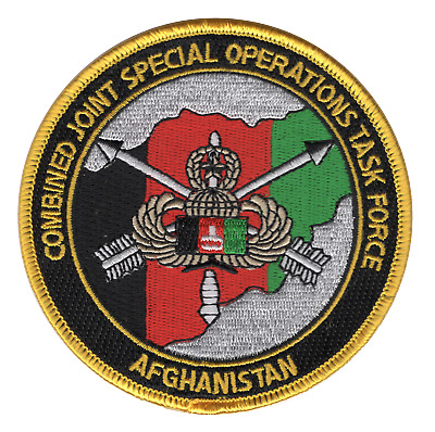 #324 SPECIAL FORCES CJS-OTF AFGHANISTAN PATCH