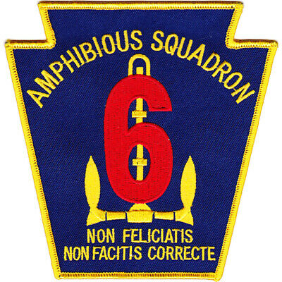 Amphibious Squadron Six Patch