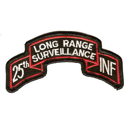 25th LRS Infantry Patch