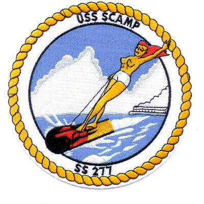 SS-277 USS Scamp Patch